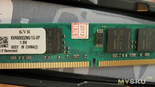 DIMM-модуль, чипы HYNIX