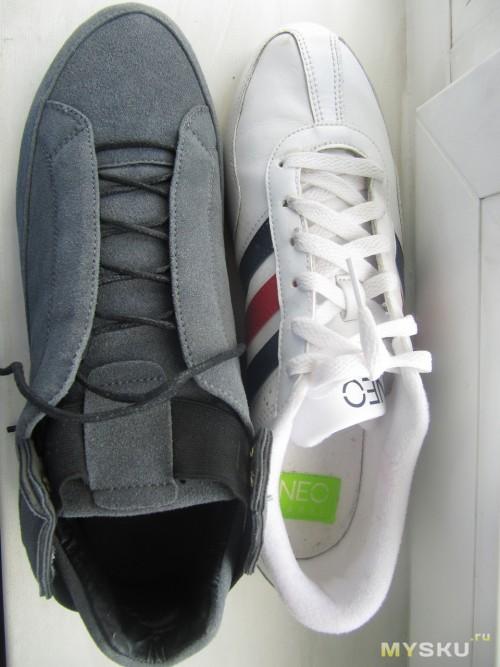 Сравнеине с обычными кроссовками