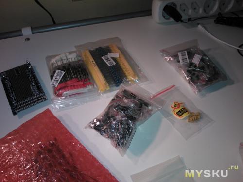 Диоды, резисторы, транзисторы, кондёры