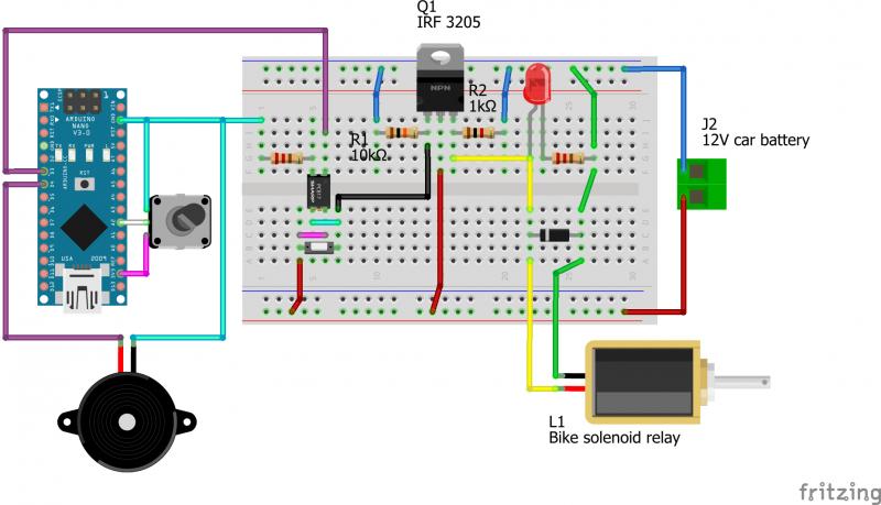 Транзистор 3205 в схеме