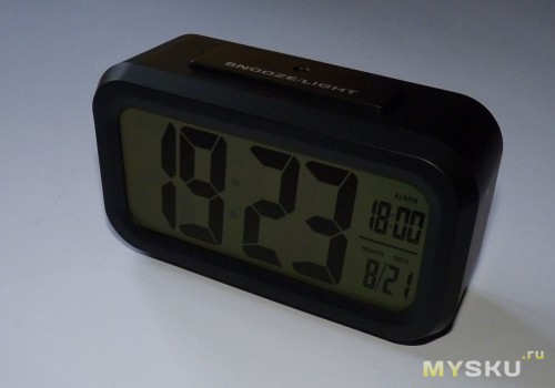 Часы без подсветки