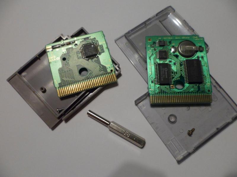 картриджи GameBoy и GameBoy Color