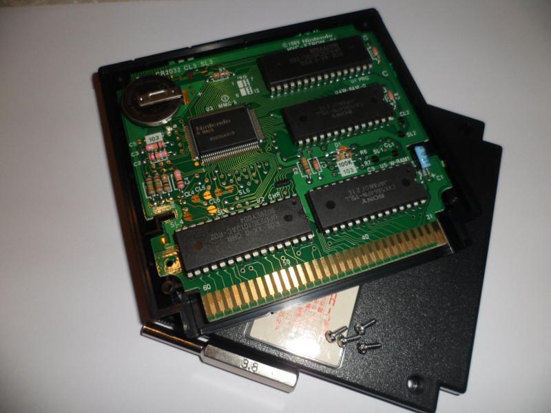 картридж Famicom от KOEI на mmc5