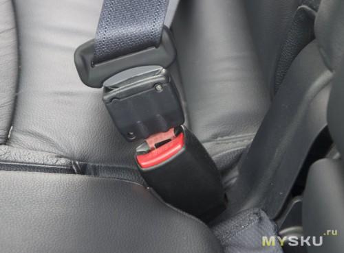 Заглушки ремней безопасности в автомобиле