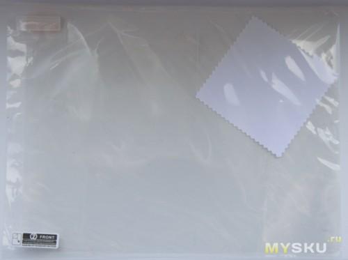 Protective Clear TPU + PET Screen Guard for iPad 2 / 3 / 4 - Transparent