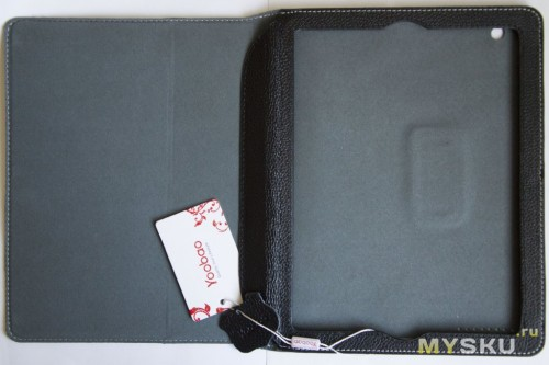 YooBao Lichee Pattern Genuine Leather Case for iPad 3/iPad 4 - Black
