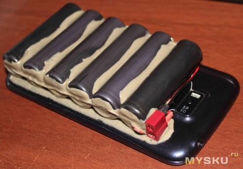 Брутальный батарейный мод