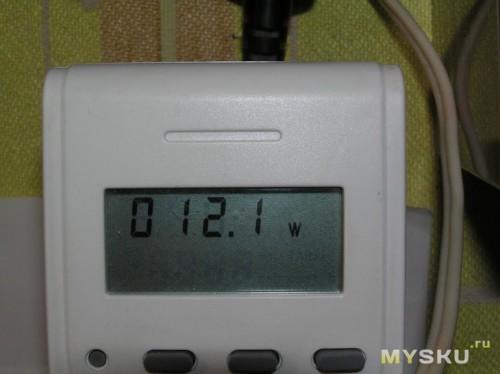 ИБП 12V - потребляемая мощность