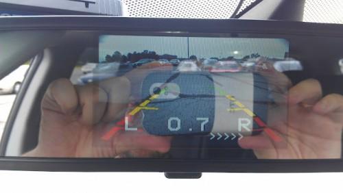 Видео парктроник и экран в зеркале