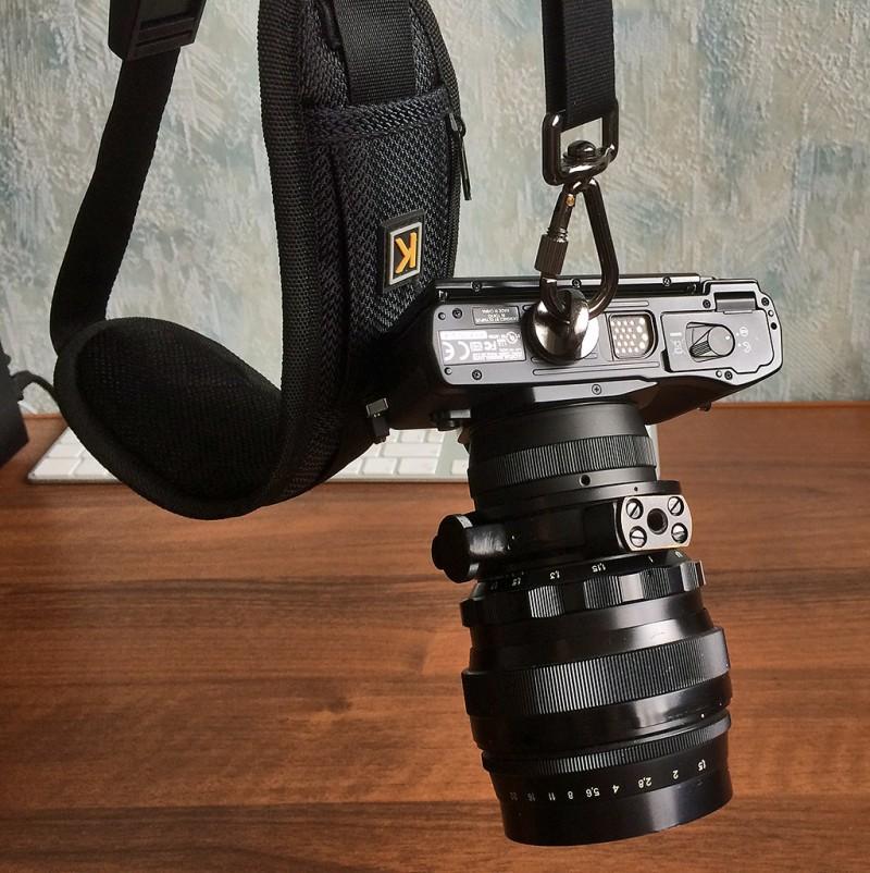 Как крепить крышку на фотоаппарат словом