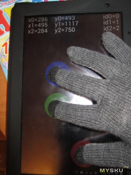 тест перчаток
