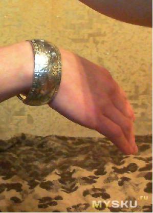 Вид на руке