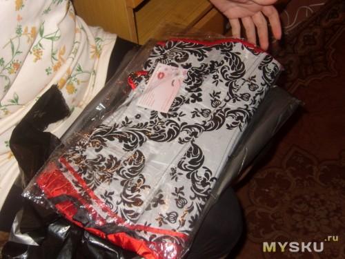 корсет в упаковке