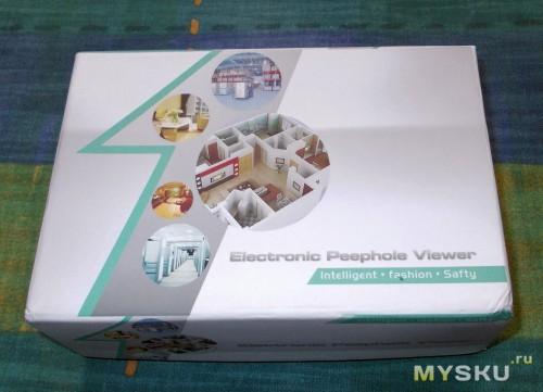 Упаковка видеозвонка
