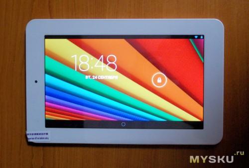 планшет Onda V711s вид сверху