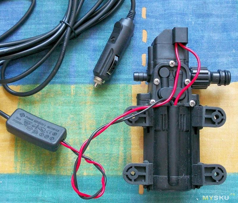 Электронасос 12 вольт для автомобиля