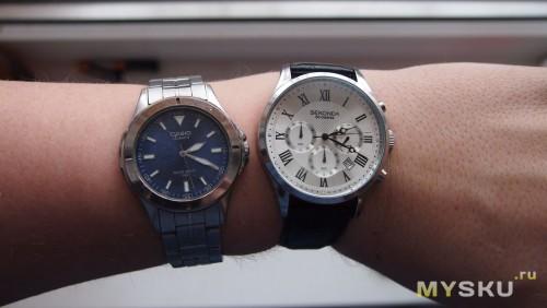сравнение часов