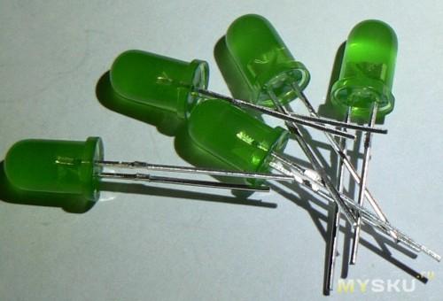 Green 3mm LED