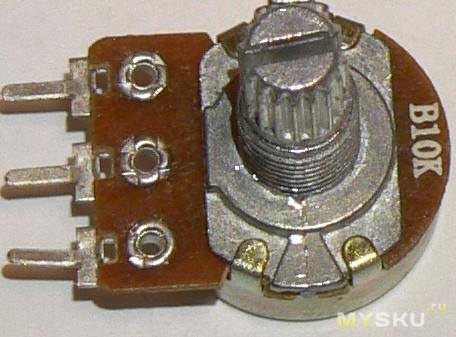 10K Rotary Potentiometer