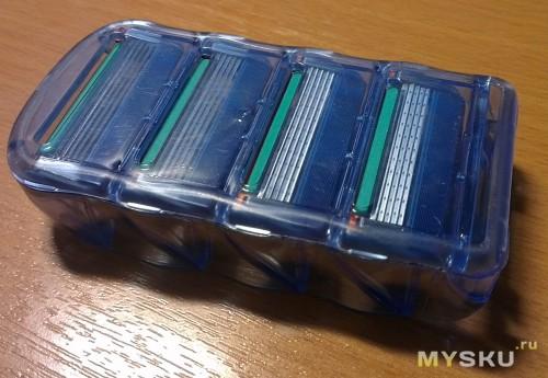 кассета с лезвиями