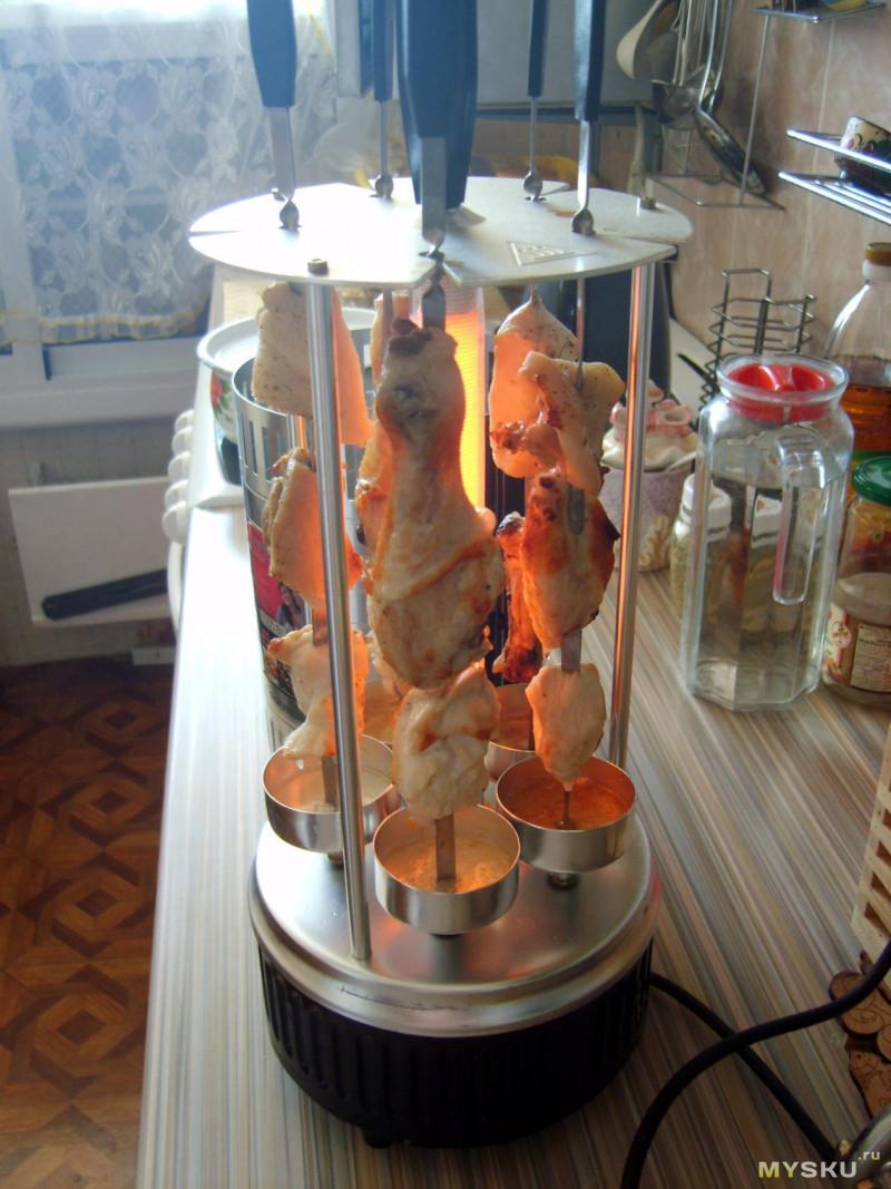 однажды овощи на электрошашлычнице рецепт с фото обогнать