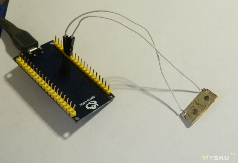 Пример программирования модуля ESP32 в Ardiono IDE