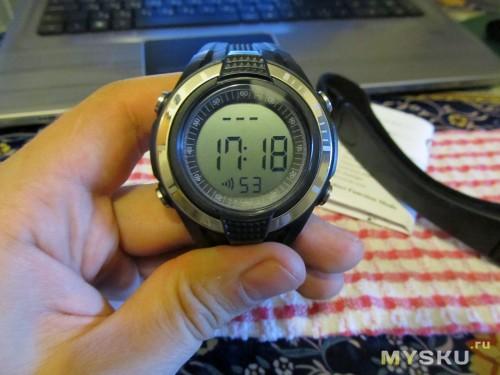 Часы-пульсометр, внешний вид