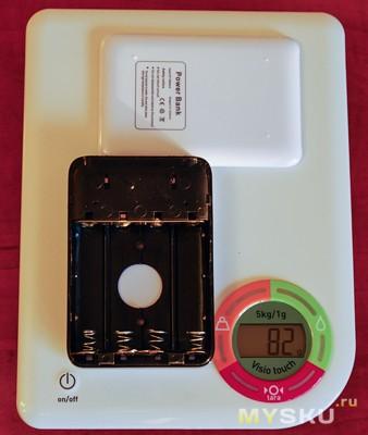Вес без аккумуляторов