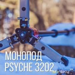 Видео монопод из Китая Psyche 3202