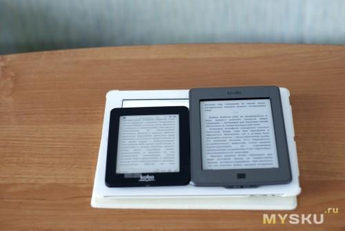 Kobo + Kindle+ iPad 3