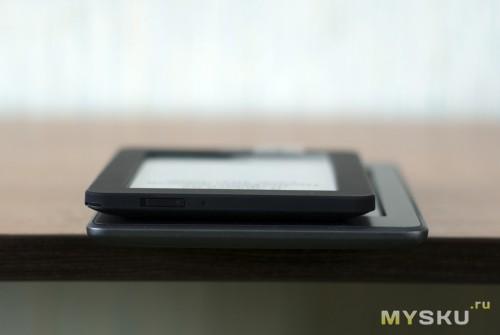 Kobo Mini с Kindle side