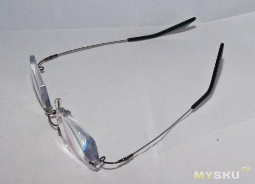 очки, общий план