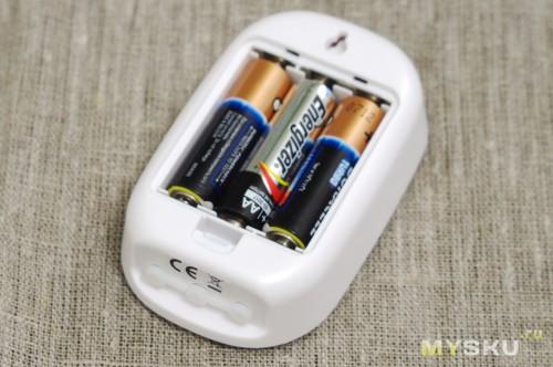 Передатчик с батарейками