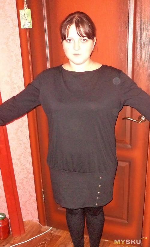 Платье с привидением.