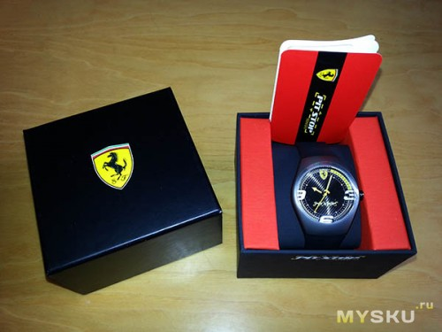 Ferrari Pit-Stop Yellow