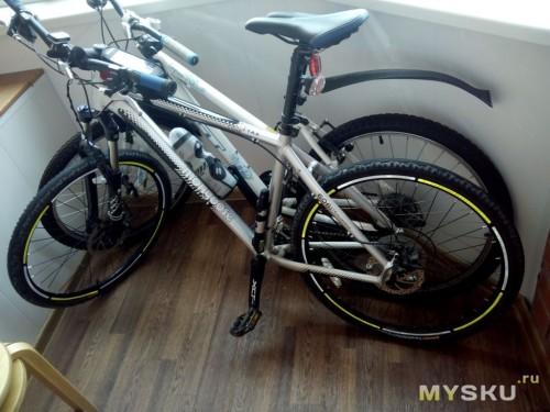 Фото на велосипеде