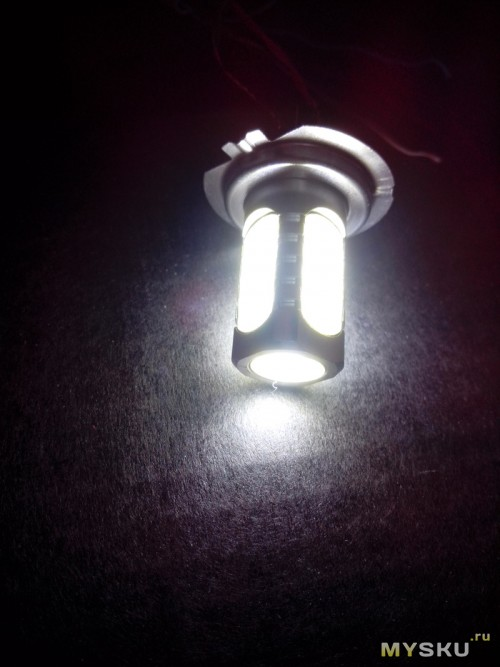 Диодная лампа 3