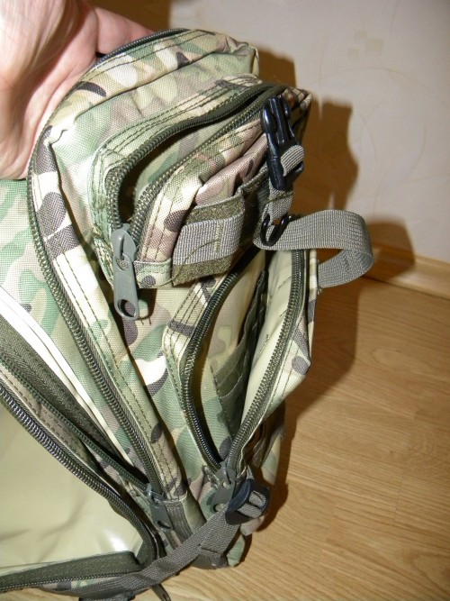 Передние карманы