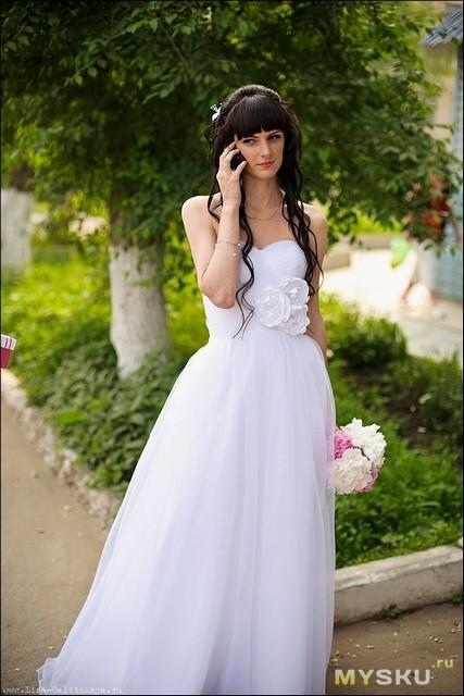 b431d45cde9fced Свадебное платье - риск вполне оправдан