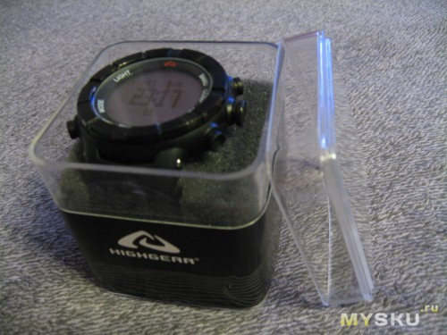 Highgear Alti Xt Negative Watch