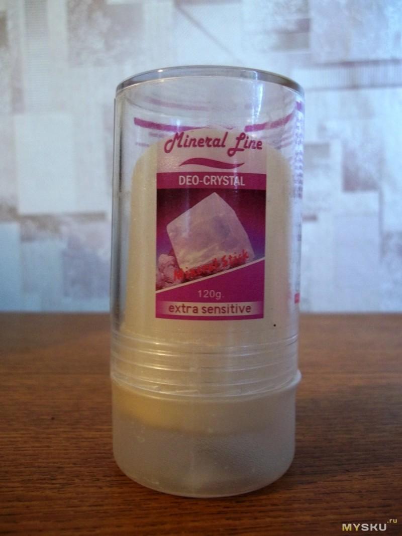 Део-кристалл или 120 граммов алюмокалиевых квасцов