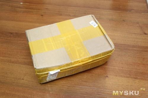 Пришло вот в такой упаковке: