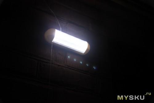 Ну и сам свет ночью: