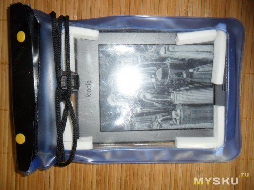 Водонепроницаемый чехол для amazon kindle  с устройством