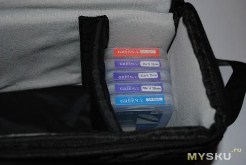 фильтры в сумке