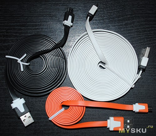 все кабели без упаковки