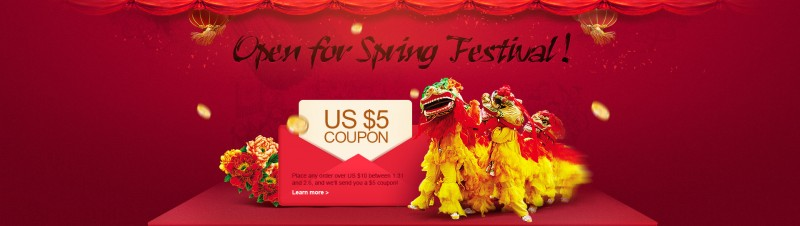 Spring festival on AliExpress