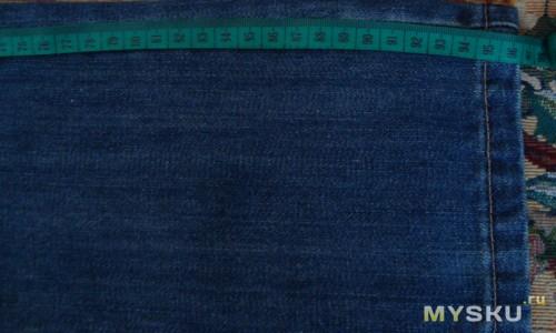Длина джинс