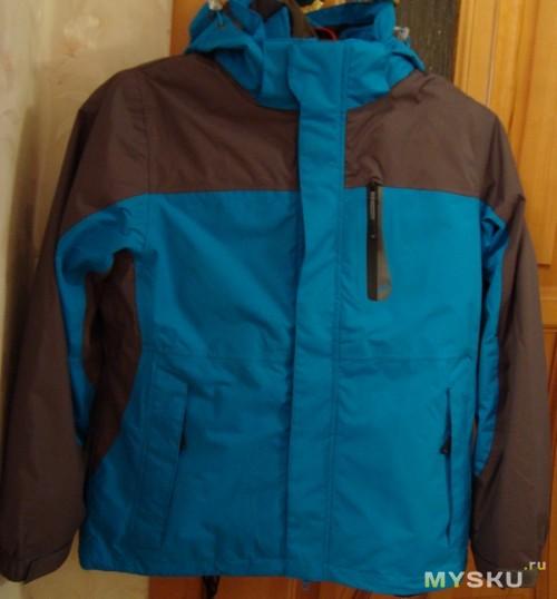 Куртка спереди
