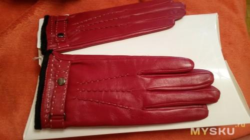 Вот так выглядят перчатки